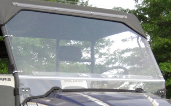 02-08 Polaris Ranger XP 4x4 Lexan Folding Hard Windshield