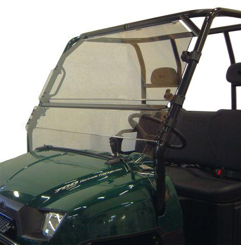 08-09 Polaris Ranger Crew Polycarb Full Tilt Windshield 2611