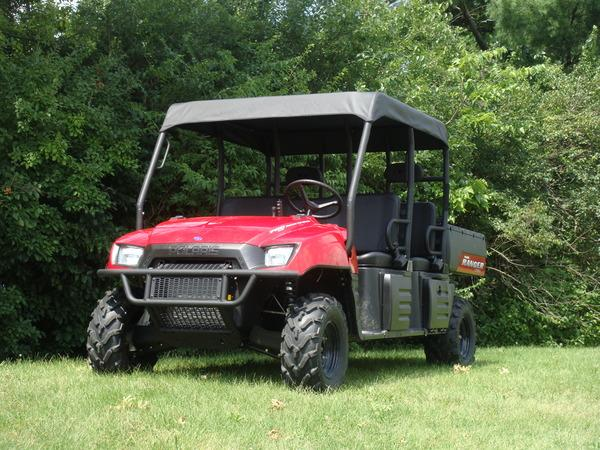 08-09 Polaris Ranger Crew Soft Roof / Canopy / Sun Shield GCL UTV