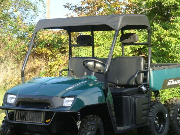 2004-2008 Polaris Ranger Soft Roof / Top Canopy / Sun Shield GCL UTV & UTV Product Guide :: Roofs - Metal