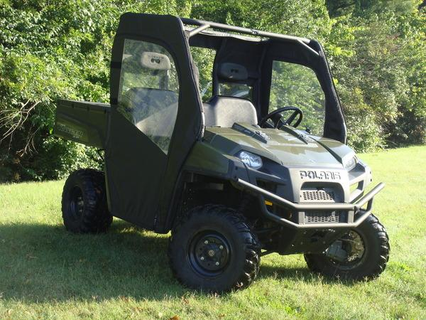 2009-2010 Polaris Ranger (2) Door Kit with Rear Window GCL UTV