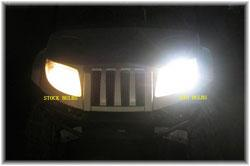 2009 Polaris Ranger HID Light Conversion Kit by Eagle Eye HIDRZRPR8