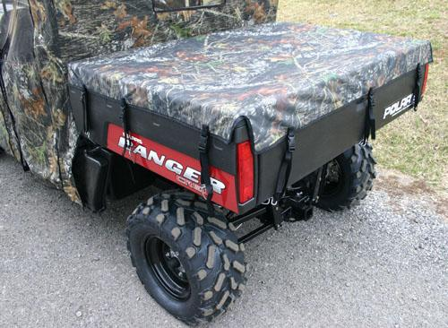 2009 Polaris Ranger UTV Bed Cover Black or Mossy Oak PRBC05