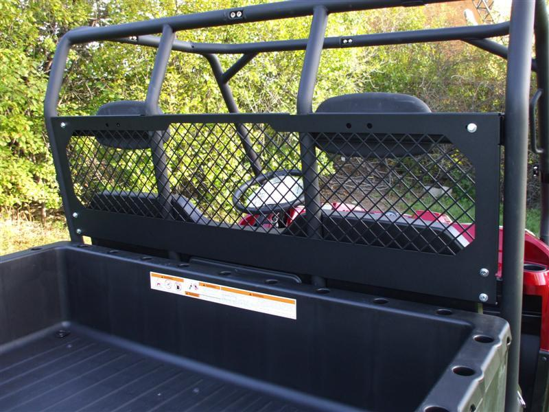 2009 Polaris Ranger XP HD 4x4 Cargo Bed Bulkhead EMP 10282