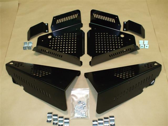 2010 Polaris Ranger Steel CV Boot Guards 4 Piece Set EMP 10545 HD