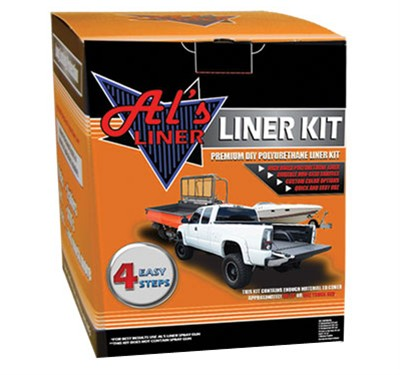 Al's Liner DIY 1 Gallon UTV Truck Bed Liner Solution AL5700