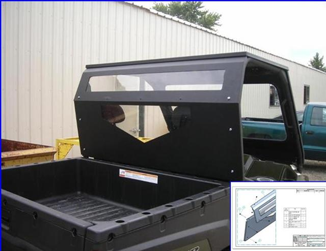 2010-2011 Ranger Cab Back with Windows