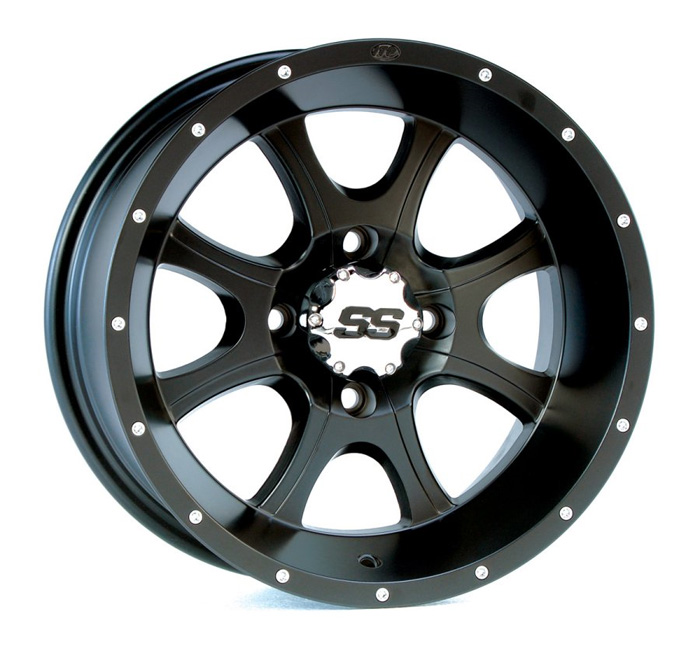 ITP SS108 Black Wheel - 14x8 - (rear)