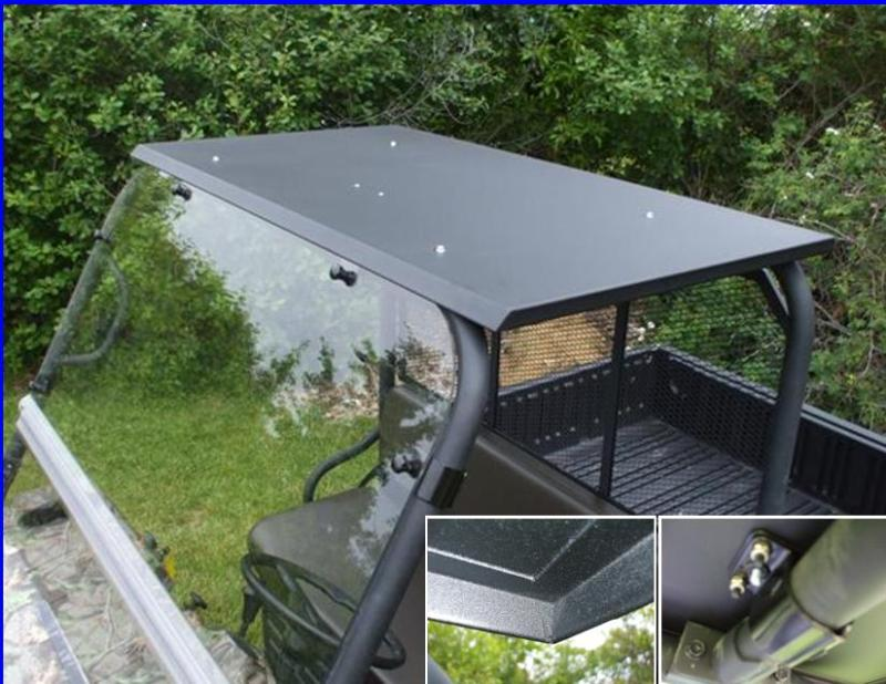 Kawasaki Mule 3000 3010 Steel Hard Top Roof + Dome Light EMP 10499