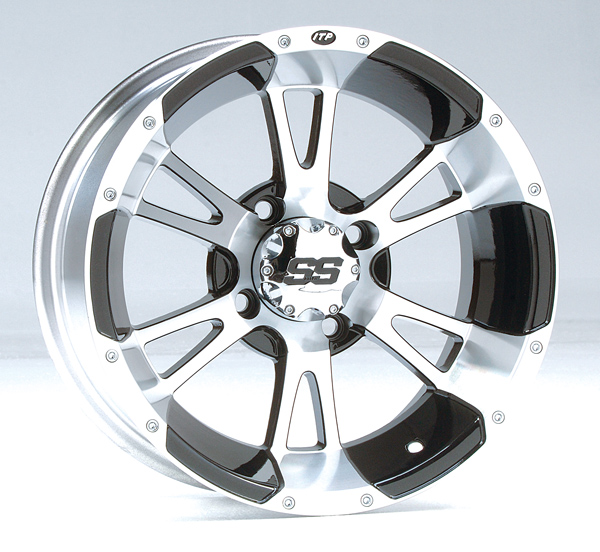 "14"" ITP SS112 Machined Wheels - Complete Set of 4"