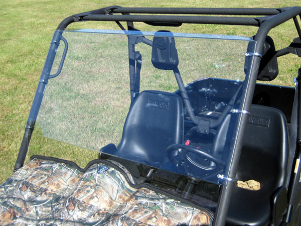 Utv product guide cabs windshields for Yamaha rhino windshield template
